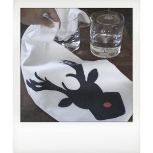 designer Bar towel
