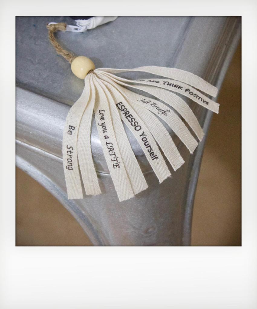 Handmade Tassel For Coffee Talk Pillows
