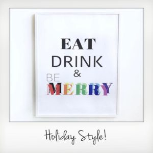 Holiday Style Poster