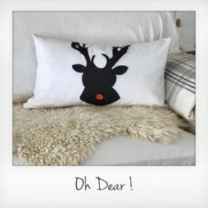 Oh dear! Lumbar Pillow