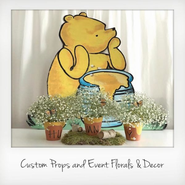 Event Props and Floral Decor